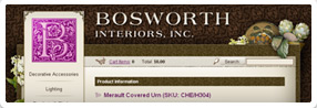 thumnbail of Bosworth Interiors, Inc. website