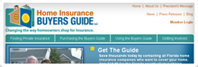 thumnbail of Home Insurance Buyers Guide, LLC website