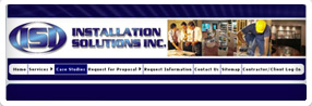thumnbail of the Installation Solutions, Inc. website